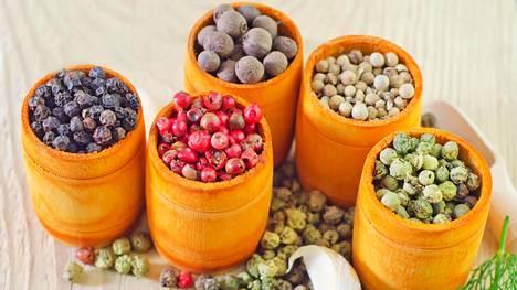 Pippurit erottaa helposti toisistaan väriensä perusteella.
