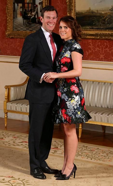 Prinsessa Eugenia ja Jack Brooksbank menevät naimisiin lokakuussa.
