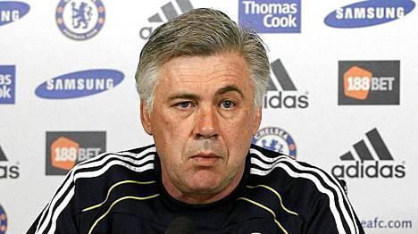 Carlo Ancelottin Chelsea tuskin onnistuu puolustamaan mestaruuttaan.
