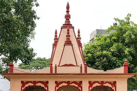 Bangladeshin pääkaupunki Dhaka.