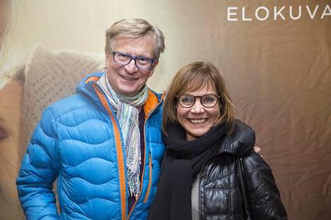 Lena Meriläinen ja Olli Tola ovat olleet naimisissa vuodeseta 1983 asti.