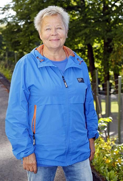 Ulla Tapaninen vuonna 2016.