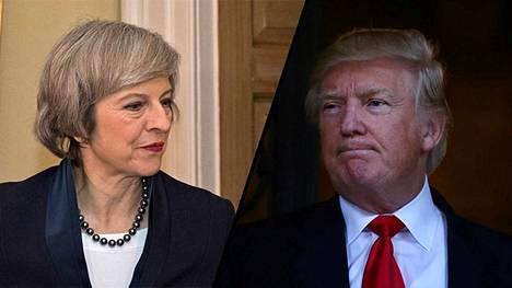 Theresa May ja Donald Trump tapaavat tänä keväänä Yhdysvalloissa.