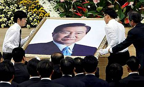 Pohjois-Korea lähettää valtuuskunnan Etelä-Korean entisen presidentin Kim Dae Jungin hautajaisiin.
