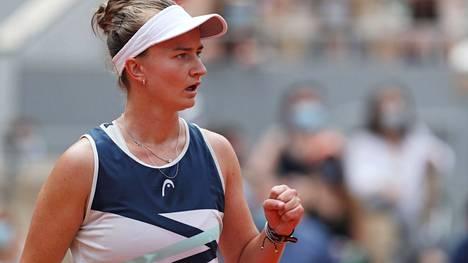 Barbora Krejcikova otti uransa ensimmäisen Grand Slam -voiton.