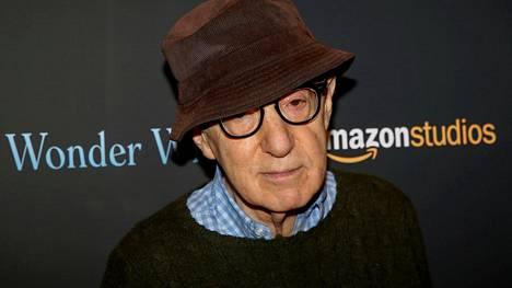 Ohjaaja Woody Allen kuvattiin New Yorkissa 14. marraskuuta 2017.