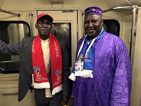 Malilaiset herrat saapuivat kannattamaan naapurimaata Senegalia.