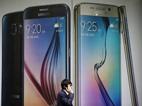 Samsungin Galaxy S6:t ovat herättäneet ihastusta, mutta riittävätkö ne kääntämään kurssin Kiinassa?