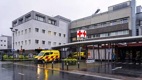 Kuopion yliopistollinen sairaala kuvituskuvassa.
