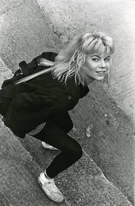 Mallina Ateenassa 1986 – sanottiin, että olisi pitänyt olla laihempi, hän nauraa.