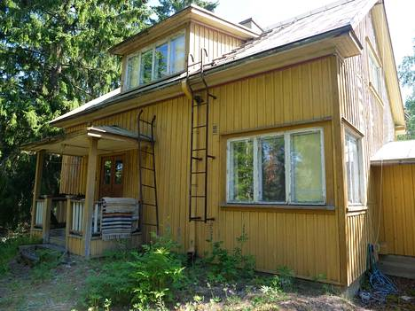 Tämä oli Leon vanhempien kotitalo, jossa Leo vietti lapsuutensa.