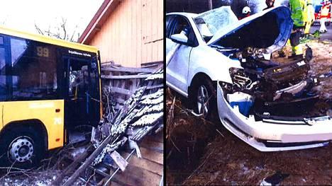 Dramaattinen onnettomuus tapahtui Turussa 16.1.2018.