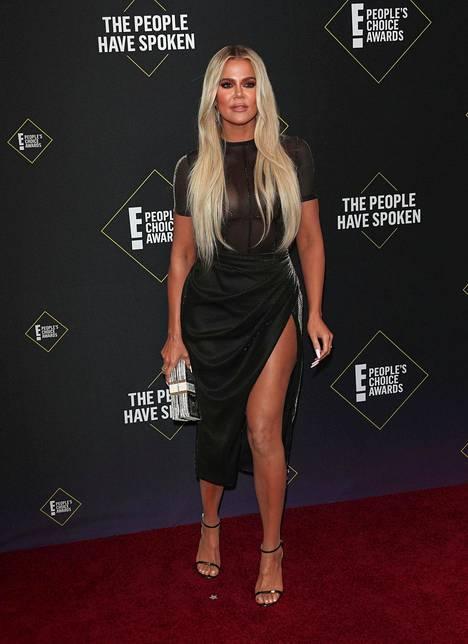 Khloé Kardashian marraskuussa 2019.