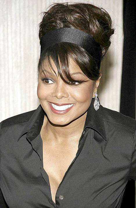 Vuonna 2006 Janet Jackson oli huomattavasti pyöreämpi.