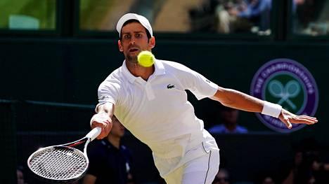 Novak Djokovic voitti neljännen Wimbledonin mestaruutensa