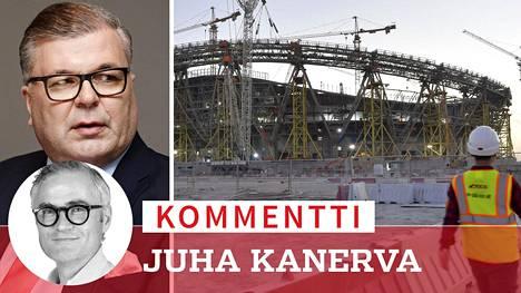 Palloliiton puheenjohtajan Ari Lahden mukaan Suomi ei aio boikotoida Qatarin MM-kisoja. Kisastadioneiden rakennustöiden yhteydessä on muun muassa Guardianin mukaan kuollut 6500 siirtotyöläistä.