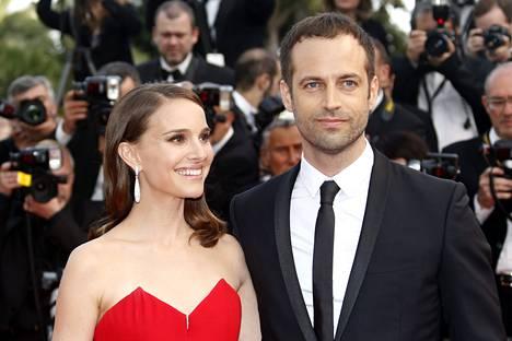 2015: Natalie Portman ja Benjamin Millepied Cannesissa.