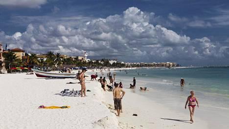 Meksikossa Jukatanin niemimaalla sijaitseva Playa del Carmen on tuttu turistikohde monille suomalaisille.