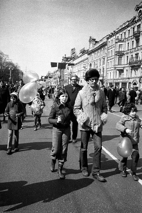 Nevski prospekt, Leningrad 1976