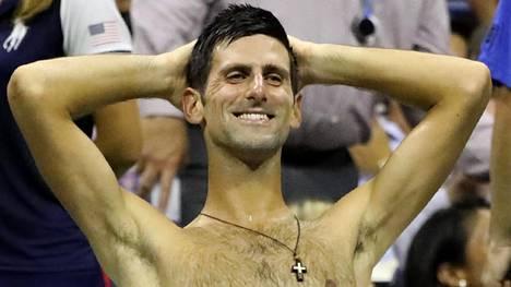 Serbitähti Novak Djokovic päätti yllättäjän lennon Yhdysvaltain avoimissa