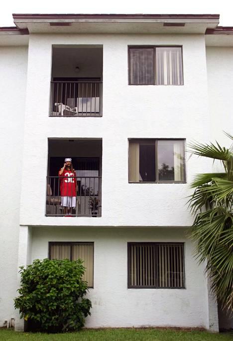 Mohammed Atta ja ainakin kolme muuta kaapparia asuivat jonkin aikaa tässä talossa Floridan Coral Springsissä.