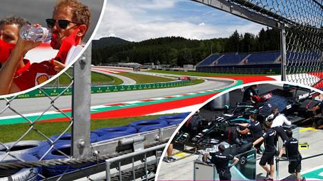 Formula ykkösten MM-sarja käynnistyy Spielbergissä Itävallassa perjantaina.