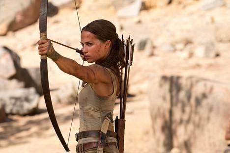 Uusin Lara CroftRuotsalainen Alicia Vikander näyttelee Lara Croftia uudessa Tomb Raider -elokuvassa.