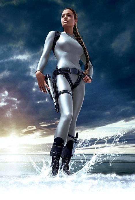 Angelina Jolie oli täydellinen Lara Croft vuoden 2001 Tomb Raider -elokuvassa.