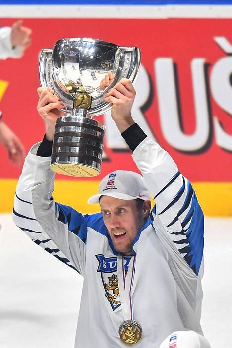 Mörkö-Marko tuuletti villisti Suomen napattua historian kolmannen maailmanmestaruuden.