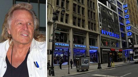 Kymmenen naista syyttää siviilikanteessa suomalaistaustaista miljonääriä Peter Nygårdia raiskauksista. Nygård on kiistänyt kaikki syytteet. Kuva oikealla: New Yorkin Nygård-muotimyymälä kuvattuna vuonna 2011.