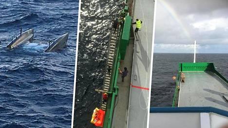 Merenkäynti vaikeutti pelastusoperaatiota.