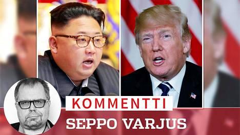 Jotkut näkevät Pohjois-Korean diktaatorin Kim Jong-unin uuden rauhantahdon olevan Yhdysvaltain presidentin Donald Trumpin ansiota.