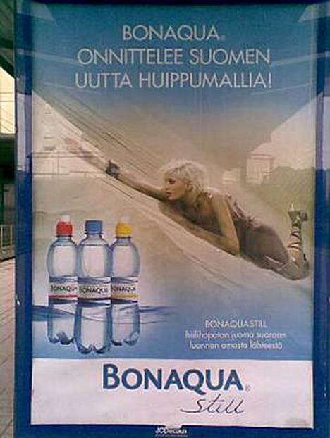 Tämä mainos paljastaa Suomen huippumalli haussa -ohjelman voittajan.