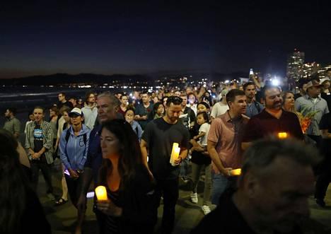 Palon uhreja muistettiin 5. syyskuuta Santa Monicassa.