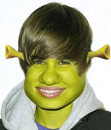 Teinitähti Justin Bieber.