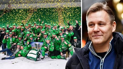 Raimo Summanen valmensi viikonloppuna HK Olimpijan Alppiliigan mestaruuteen, joka ratkesi kotihallissa Slovenian pääkaupungissa Ljubljanassa.