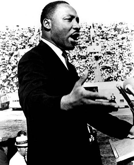 Martin Luther King muutti maailmaa paitsi teoillaan myös puheillaan.