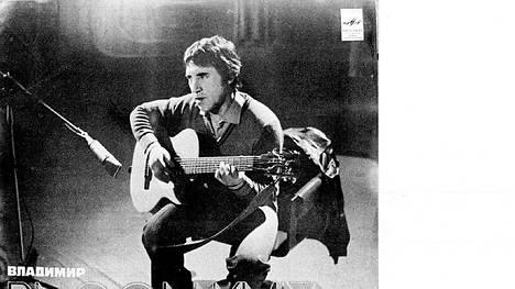 Vladimir Vysotski oli rakastettu laulaja ja lauluntekijä.