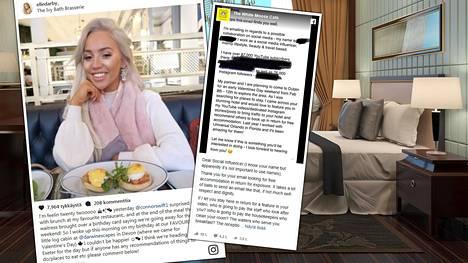 Sometähden pyyntö ilmaisesta hotellimajoituksesta paisui valtavaksi selkkaukseksi sosiaalisessa mediassa. Kuvan hotellihuone ei liity juttuun.