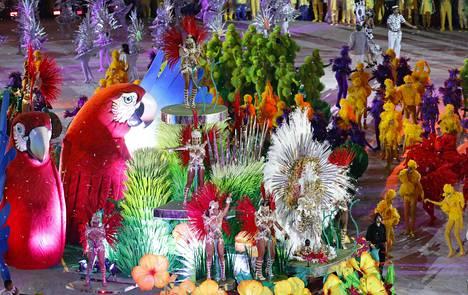 Juhlahumua riitti Rion olympialaisten päättäjäisissä elokuussa 2016. Karnevaalijuhlaa varjostavat raskaat korruptiosyytökset.