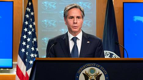 Yhdysvaltojen ulkoministeri Antony Blinken.