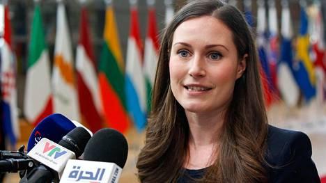 Marin osallistuu tänään ensimmäiseen EU-huippukokoukseensa Brysselissä.