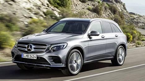 Mercedes-Benz GLC 350 e 4Matic plug-in-hybrid tulee myyntiin keväällä.