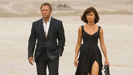 Olga Kurylenko oli Bond-tyttö elokuvassa Quantum of Solace.
