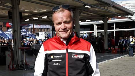 Tommi Mäkinen on työskennellyt Toyotan tallipäällikkönä vuodesta 2017.