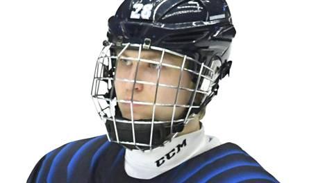 Roni Hirvonen pelasi alle 18-vuotiaiden MM-kisoissa huhtikuussa.