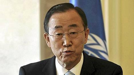YK:n pääsihteeri Ban Ki Moon sanoi maanantaina olevansa helpottunut terroristijohtaja Osama bin Ladenin kuolemasta.