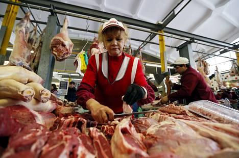Monien tuotteiden hinnat ovat nousussa Venäjällä.