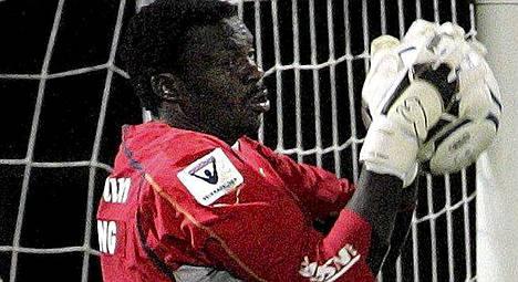 Willis Ochieng oli IFK:n luottovahti.