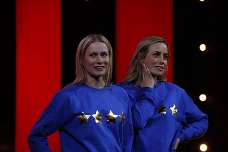 Siskokset Minka ja Iina Kuustonen nähdään tänä syksynä ensi kertaa yhdessä Putouksessa.
